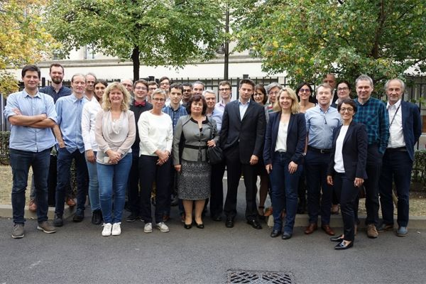 Group picture from the MarTERA kick-off meeting in Paris