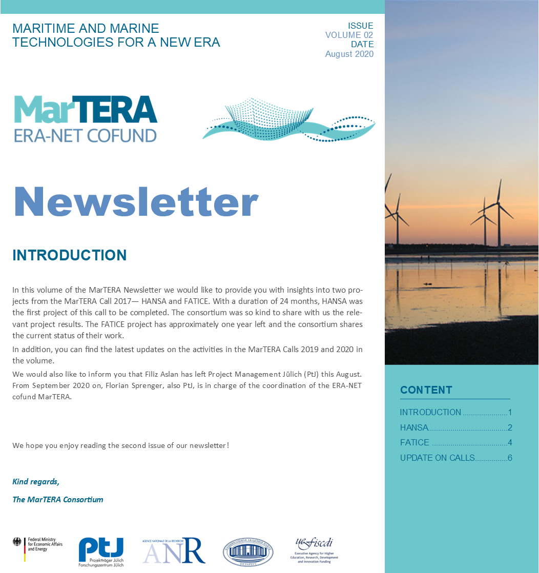 MarTERA Newsletter Vol. 02 Icon